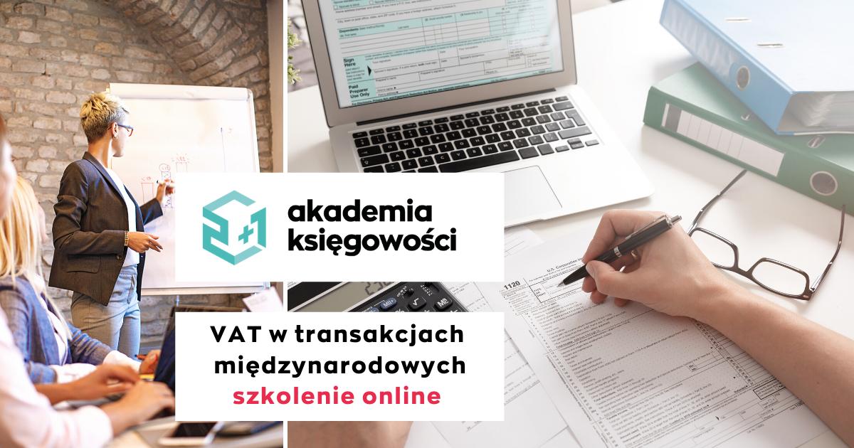 VAT w transakcjach międzynarodowych